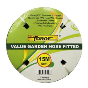 15m (50′) UV Resistant Reinforced PVC Garden Hose with Polyester Thread pictures & photos