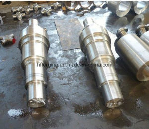 Turbine Shaft Forging Shaft with 42CrMo or Other Steel pictures & photos