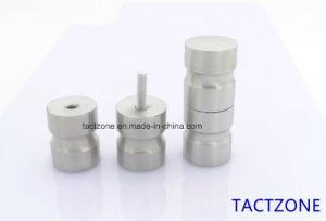 Canton Fair Hot Sale Toilet Cubicle Partition Hardware Steel Handle pictures & photos
