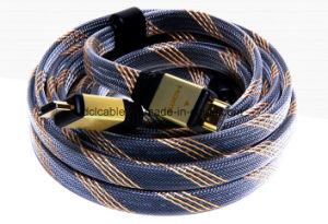 Al-Shell Flat HDMI Cable Support 4k*2k pictures & photos