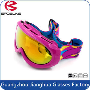 Quality Coated Fog Resistant Sports Goggles Hot Sale Kids Skiing Goggles pictures & photos
