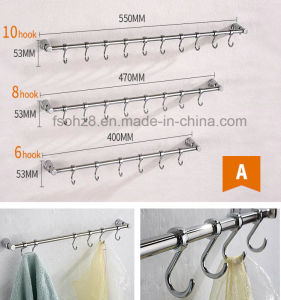 Quality Stainless Steel 304 Robe Hook for Bathroom (S-A) pictures & photos