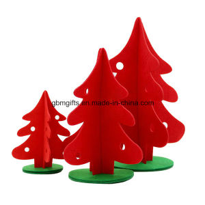 2016 Wholesale Fleece Christmas Trees Decoration pictures & photos