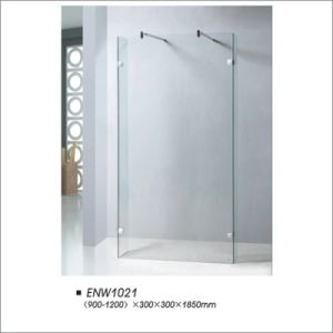Shower Screen with Two Side Door pictures & photos