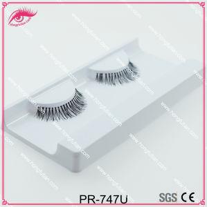 False Eyelash Handmade Natural Long Human Hair Eyelashes Beauty Product pictures & photos