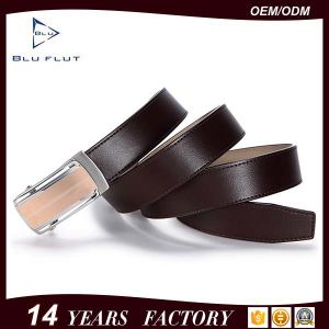 Factory Wholesale Fashion Genuine Cowhide Leather Dress Men Belt pictures & photos