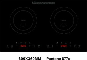 ETL cETL 120V 1800W Countertop Double Burners Induction Cooktop Model SM-DIC16 pictures & photos