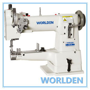 Wd-335 (worlden) Single Needle Unison Feed Cylinder Bed Sewing Machine pictures & photos
