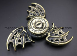 2017 Zinc Metal High Quality Devil Wing EDC Spinner Fidget, Gear Hand Spinner for Autism and Adhd Anti Stress, Spinning Toy