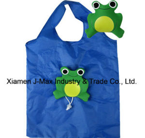 Foldable Shopping Eco-Friendly Bag, Animal Frog Style, Grocery Bags and Handy, Promotion, Lightweight, Accessories & Decoration, Reusable, Tote Bags pictures & photos