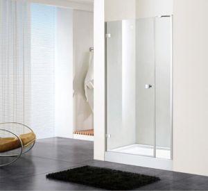 Bathroom 8mm Glass Inline Hinge Door Shower Enclosure (BN-HD120W) pictures & photos