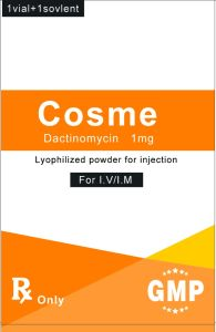 High Quality Pharmaceutical Grade Antibiotics Actinomycin D Powder CAS 50-76-0 pictures & photos
