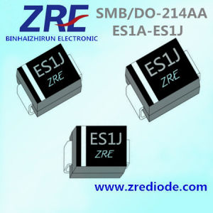 1A Es1a Thru Es1j Super Fast Recovery Rectifier Diode SMB/Do-214AA Package pictures & photos