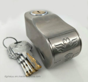 Two Eagles Ultra B Class Monitoring Alarm Lock, Anti-Theft Motorcycle Lock, Disc Brake Bicycle Lock pictures & photos