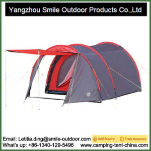 5 Person Luxury Modern Living Tunnel Family Camping Tent pictures & photos