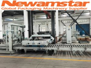 Newamstar Robot Stacker Crane System for Beverage Production Line pictures & photos
