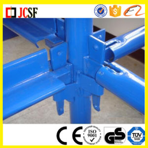 Painted Kwikstage Scaffold System with Blue Color pictures & photos