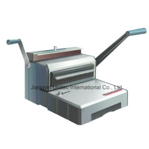 Popular Design Manual A4 Size Wire Book Binding Machine Wb-2410 pictures & photos