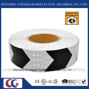 PVC Black and White Road Safety Arrow Reflective Tape (C3500-AW) pictures & photos