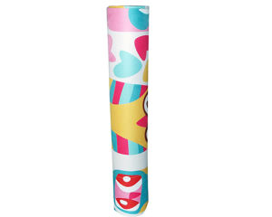 Full Color Heat Sublimation Printing Yoga Mat Customizable pictures & photos