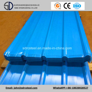 Color Coated (Prepainted) Galvanized Corrugated Steel Roofing Sheet pictures & photos