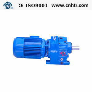 Hr Series Helical Gear Electric Motor Speed Reducer