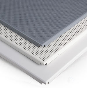 Aluminum Clip-in Ceiling with Perforated Pattern for Interior Decoration pictures & photos