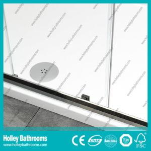 Aluminium Pivot Shower Sliding Door with Tempered Laminated Glass (SE939C) pictures & photos