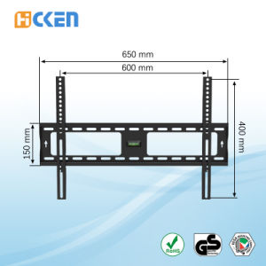 """Tilting LCD TV Wall Bracket with High Quality and Low Price for 37"""" to 70"""" Screen pictures & photos"""