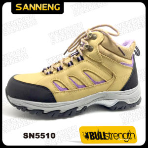 Sport Style Ankle Safety Shoe with Genuine Leather (SN5510) pictures & photos