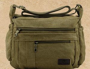 Designer Cheap Canvas Travel Messenger Bag pictures & photos