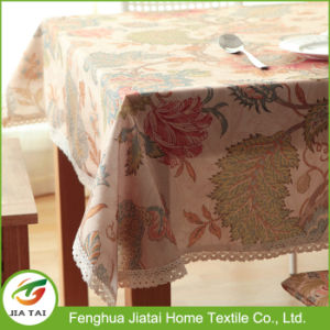 Table Cloths Factory Flower Pattern Modern Lace Tablecloth