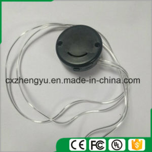 Cr2032 Smile Face Battery Holder with Transparent Leads pictures & photos