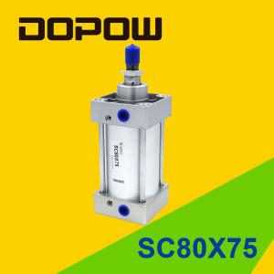 Dopow Sc80X75 Pneumatic Cylinder Standard Cylinder pictures & photos