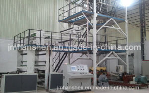 Double Winder Rotary Die Head Plastic Film Blowing Machine pictures & photos