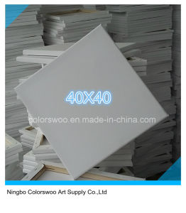 40*40cm Stretched Canvas for Painting and Drawing pictures & photos