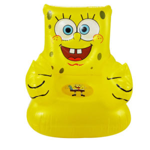 Cartoon Design PVC or TPU Inflatable Kids Sofa Seat pictures & photos