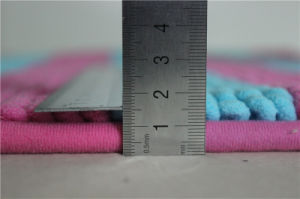 Loop Pile Soft Non-Slip Microfiber Shag Chenille Floor Bathroom Mat pictures & photos