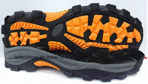 Hot Sell Comfort Outdoor Climing Hiking Running Sport Shoes TPR Outsole (NL1230-1) pictures & photos