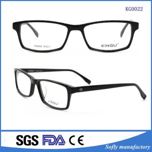 Latest German Matte Black Eyeglasses Optical Frames pictures & photos
