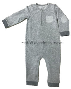 Simple-Style Grey Melange Jumpsuit for Boy pictures & photos