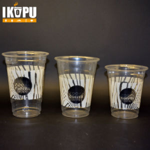 Promotinal Water Cup Drink Plastic Cup with Lid pictures & photos