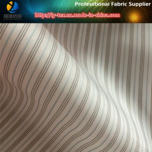 Fur Clothing Lining in Yarn Dyed Fabric of Polyester Stripe (S144.145) pictures & photos