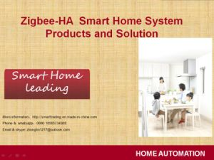 Z-Wave Zigbee Smart Home Automation System Products Solution Remote Control pictures & photos
