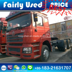 Used Second Hand Shacman Tractor Head Truck 380HP for Sale