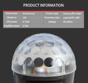 Magic Musical Karaoke Crystal Ball Stage Light LED Effect Light pictures & photos