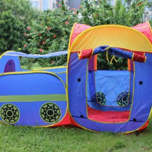 13198040-50.39 X 25.98 X 34.65″ Children Games House Tent Mixed Colors pictures & photos