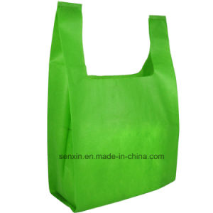 Wholesale Non Woven Fabric Drawstring Bag pictures & photos