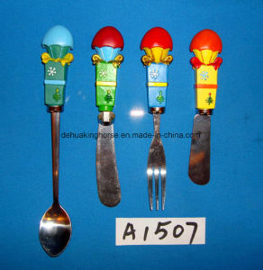 Spreader with Resin Handle for Christmas Decoration pictures & photos