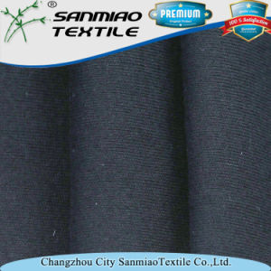 Indigo Rib Style Knit Denim Fabric for Garments pictures & photos